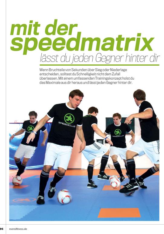 Mens-Fitness Die Speedmatrix Seite 1