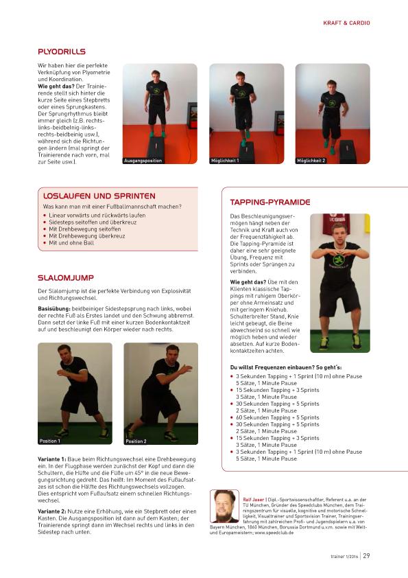 Trainerzeitschrift Fußball Fitness 2